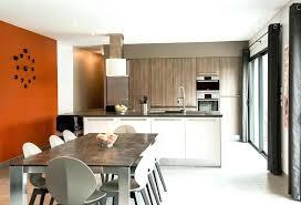 aménagement cuisine salle à manger exciting amenagement cuisine salon salle a manger et design stunning