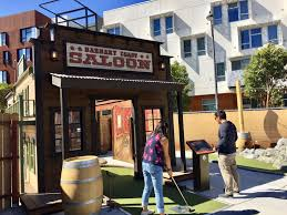 Now Open In Mission Bay: SF's First Outdoor Mini-golf Course | Hoodline Third Space Sf Building Boom Creating New Vocabulary 19 Essential Food Trucks In Austin Golden Gate Park San Francisco California United States Sports Outdoor Mini Golf Right Here Yes And With Food Trucks A Planning Rejects Truck Proposed For Mostly Vacant Valencia Muir Woods My Life In Verbs Soma Streat Facebook Presidio Pnic Off The Grids Sunday Party Stock Photos Best 58 Fun Things To Do Acvities Attractions Grid Streat Mapping All 51 Awesome Public Parklets