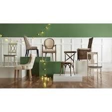 7 Linon Home Decor Hyde Ash Grey Wood Dining Chair