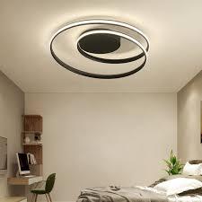 led wohnzimmerle deckenleuchte dimmbar mit fernbedienung ring badle flurle deckenle chic blütenform design metall acryl deckenbeleuchtung