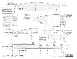 free plans for a kid u0027s kayak guillemot kayaks small wooden