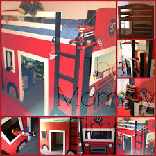 100 Fire Truck Loft Bed DIY Truck The Mommy Times