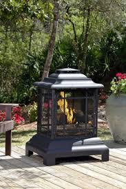 Fire Sense Rectangle Pagoda Patio Fireplace FSS merce Zoostores