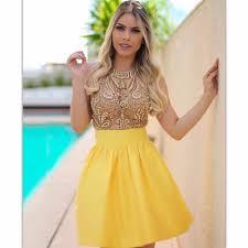 yellow homecoming dress newyorkfashion us