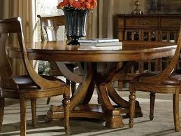Round Dining Tables For Sale Hooker Furniture Medium Wood Wide Pedestal Table Cheap
