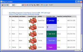 Print And PDF Java JTable With Custom Fonts