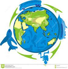 Travel Agency Logo Design Stock Vector Illustration Of Concept