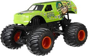 100 Hot Wheels Monster Truck Toys Jam Jester Vehicle Green