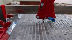 Ishii Tile Cutter Manual by Cutting Extremely Textured Porcelain Tile With A Manual Tile