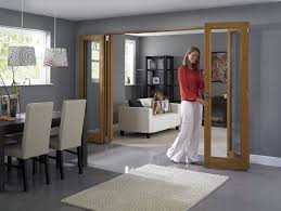 Living Room Doors Interior Internal Folding Ideas Bifold On French In Kitchen