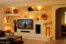 wand in der halle in einem modernen stil mit einem fernseher