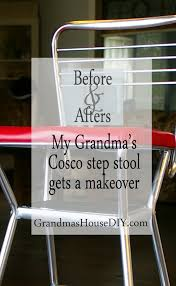 Cosco Retro Chair With Step Stool Black by My Grandma U0027s Old Cosco Step Stool Grandmas House Diy