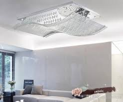 großhandel led wohnzimmerle moderne kristallle led wohnzimmer deckenleuchte rechteckiges schlafzimmer restaurantbeleuchtung len und