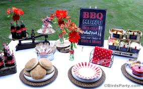 Backyard Bbq Decoration Ideas by Bbq Cookout Summer Party Ideas Party Ideas Party Printables