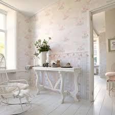 papiertapete djooz weiß landhaus