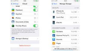 Delete iCloud iOS backups Macworld UK