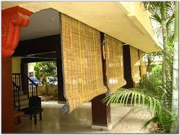 great bamboo patio shades patio outdoor bamboo shades blinds