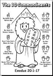 Images Photos Ten Commandments Coloring Pages