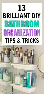 13 Brilliant Ways To Organize Your Bathroom | DIY Home Ideas ... Astounding Narrow Bathroom Cabinet Ideas Medicine Photos For Tiny Bath Cabinets Above Toilet Storage 42 Best Diy And Organizing For 2019 Small Organizers Home Beyond Bat Good Baskets Shelf Holder Haing Units Surprising Mounted Mount Awesome Organizing Archauteonluscom Organization How To Organize Under The Youtube Pots Lazy Base Corner And Out Target Office Menards At With Vicki Master Restoring Order Diy Interior Fniture 15 Ways Know What You Have