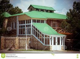 100 German House Design Stylish Duplex In Village Stock Image Image Of Brick Built
