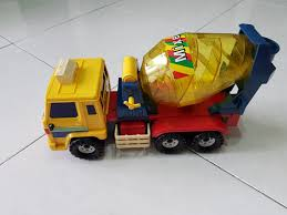 100 Toy Cement Truck Mixer Babies Kids S Walkers On Carousell