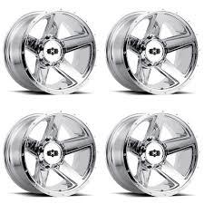 100 8 Lug Truck Wheels Details About Set 4 22 Vision 390 Empire Chrome 22x115