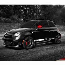 100 Custom Decals For Trucks Car Body Sticker Cars Fiat 500 Dynamic Grid Waist Car