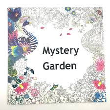 Secret Garden Series Mystery Coloring Books Parent Child Interaction Inspiration Graffiti Interesting Painting Book Activities Free