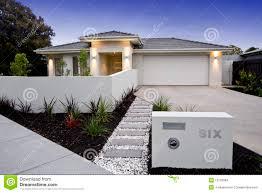 100 Contemporary Home Facades Australian Beach Facade Stock Photo Image Of