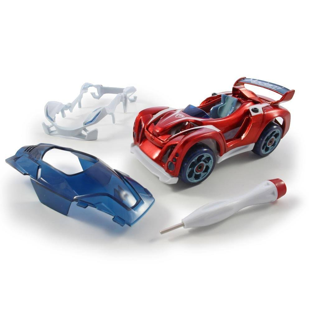 Modarri Delux T1 Track Car Build Your Car Kit Toy Set