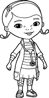 Just Doc McStuffins Coloring Page