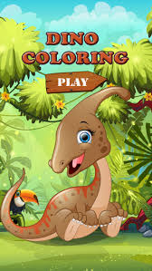 Dinosaurs Coloring Book Game For Kids Screenshot 1