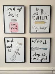 Watercolor Kitchen Puns By BevCartwrightDesigns On Etsy Diy DecorCute