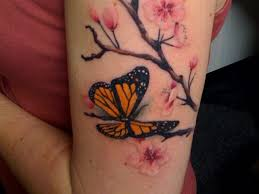 24 Magnificent Monarch Butterfly Tattoo List For The Ones Looking
