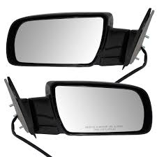 100 Side View Mirrors For Trucks Amazoncom Driver And Passenger Power With Metal