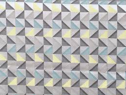 Grey Geometric Pattern Curtains by Grey And Yellow Geometric Triangle Curtain Fabric By The Yard