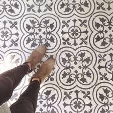Black And White Patterned Floor Tiles 20