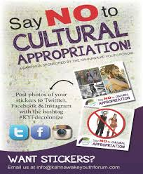 Cultural Appropriation Halloween by Say No To Cultural Appropriation Campaign