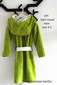 Simple Bath Towel Robe