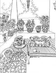 Color Your Best Life Relaxing Rooms And Soothing Scenes Coloring Book