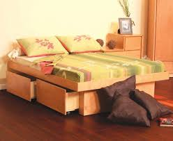 bed frames free twin storage bed plans easy cheap diy storage