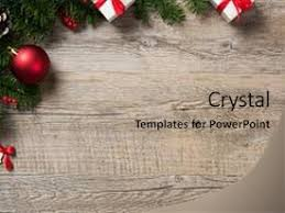 Cool New Slide Deck With Ball Rustic Christmas Corner Background Backdrop And A Coral Colored Foreground