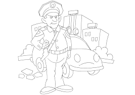 Various Jobs Coloring Pages