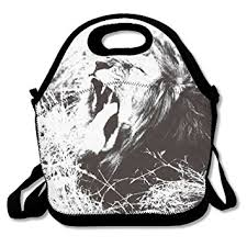 African Cecil The LionLunch Box Food Bag Simple Lunch For Adults Or Kids