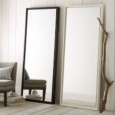 Dresser Mirror Mounting Hardware by Floating Wood Floor Mirror West Elm
