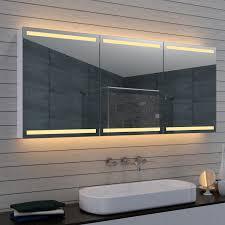 spiegel schrank bad 160x70 cm kalt warm badspiegel badedzimmer