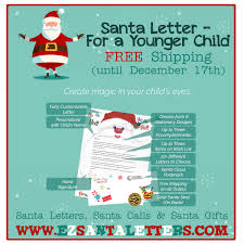 Santa Letter For An Older Child Santa Letters Santa Letter