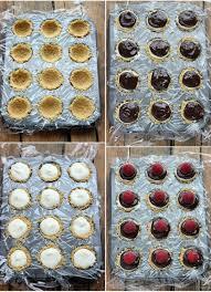 easy no bake dessert recipes no bake meyer lemon mini cheesecakes with chocolate ganache