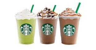 Starbucks 50 Off Frappuccinos