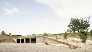 100 Architecture Depot Deamicisarchitetti Submerges Concrete Machinery Depot Into